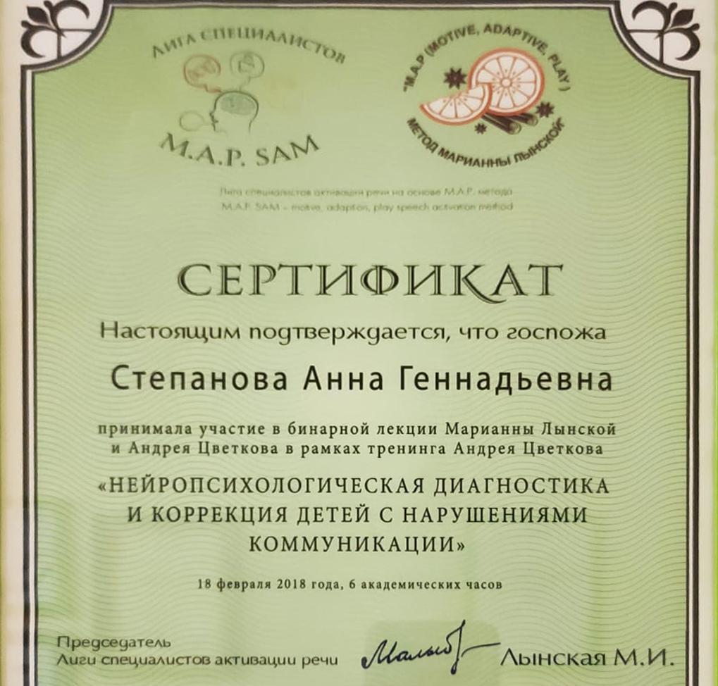Степанова 1