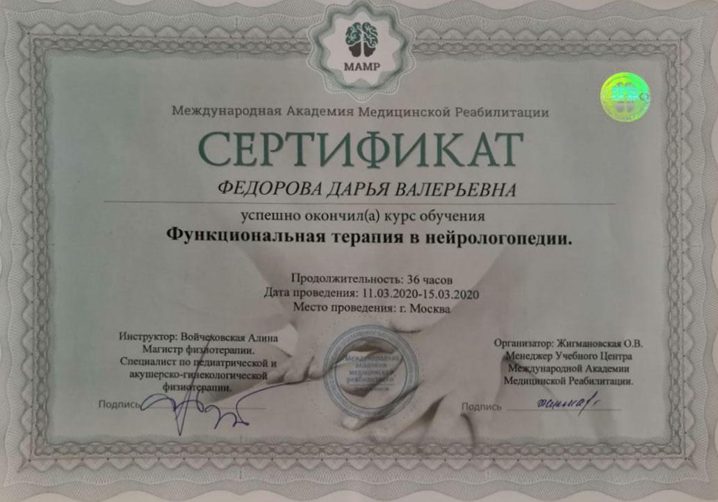 Федорова 3